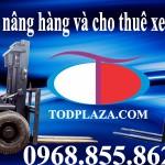 Dịch vụ Bán và cho thuê xe nâng hàng tại TODPlaza