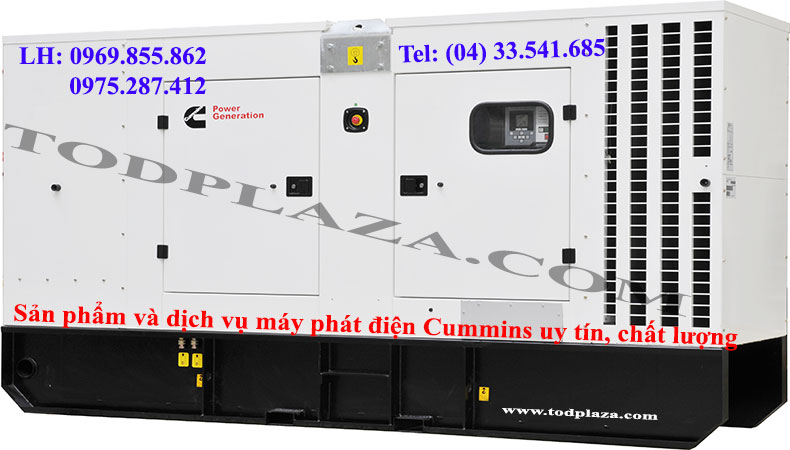 Sản phẩm và dịch vụ cho thuê máy phát điện cunmmins uy tín, chất lượng