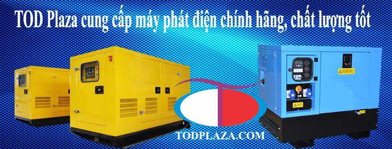 TOD cung cấp máy phát điện chính hãng chất lượng tốt