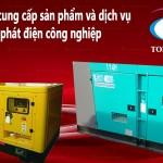 TODPlaza, chuyên máy phát điện công nghiệp cũ giá rẻ