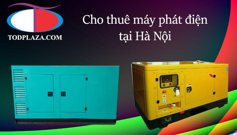 Dịch vụ cho thuê máy phát điện tại Hà Nội