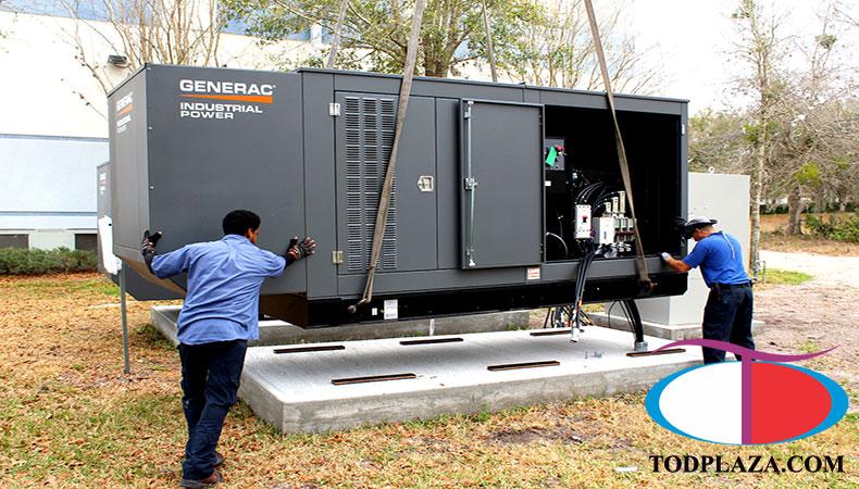 Dịch vụ sửa máy phát điện tại TOD Plaza