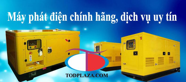 Máy phát điện chính hãng tại TOD Plaza