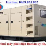 Máy phát điện Doosan chính hãng, chất lượng tốt