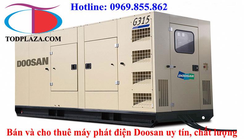 Sản phẩm và dịch vụ máy phát điện Doosan uy tín chất lượng