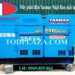 Bán và cho thuê máy phát điện Yanmar