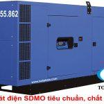 Sản phẩm và dịch vụ cho thuê máy phát điện SDMO
