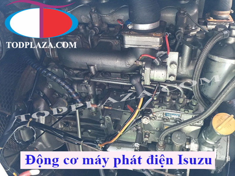 Động cơ máy phát điện Isuzu