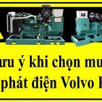 Lưu ý khi chọn mua máy phát điện Volvo