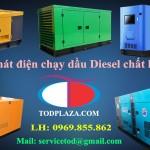 Sản phẩm máy phát điện chạy dầu Diesel chất lượng tốt
