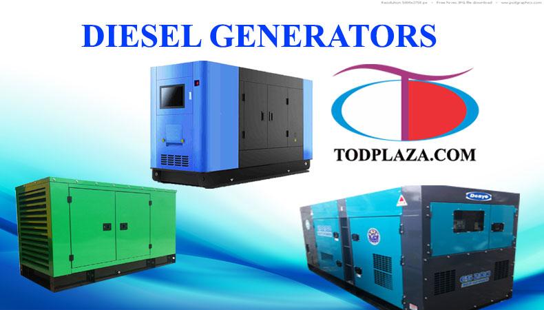 Máy phát điện chạy dầu Diesel chất lượng tại TODPlaza