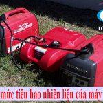 Tính định mức tiêu hao nhiên liệu của máy phát điện