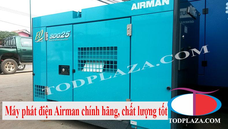 Sản phẩm và dịch vụ cho thuê máy phát điện Airman