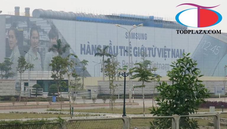 Nhà máy SamSung Thái Nguyên