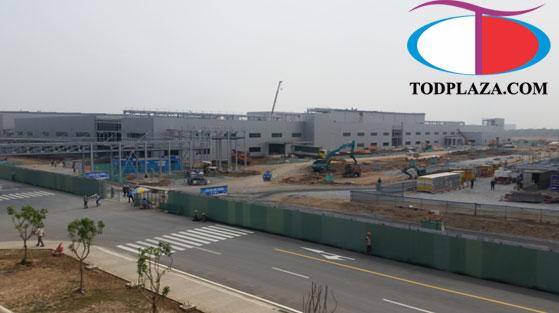 công trường Samsung quận 9 - HCM