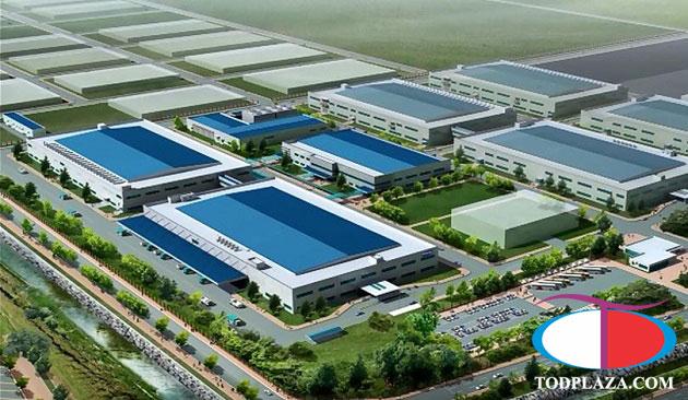 phối cảnh nhà máy Samsung quận 9 - HCM
