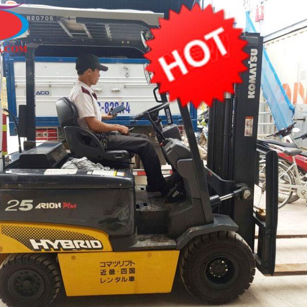 Xe nâng KOMATSU 2,5 tấn TOD