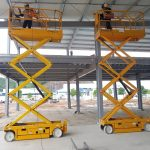 Trúng thầu dự án cung cấp cho thuê 10 xe nâng người tại Thái Nguyên